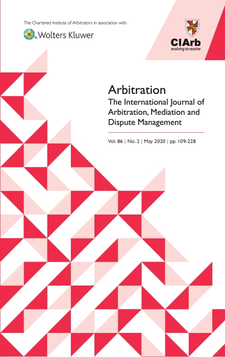 Arbitration The International Journal Of Arbitration Mediation And Dispute Management Kluwer Law Online